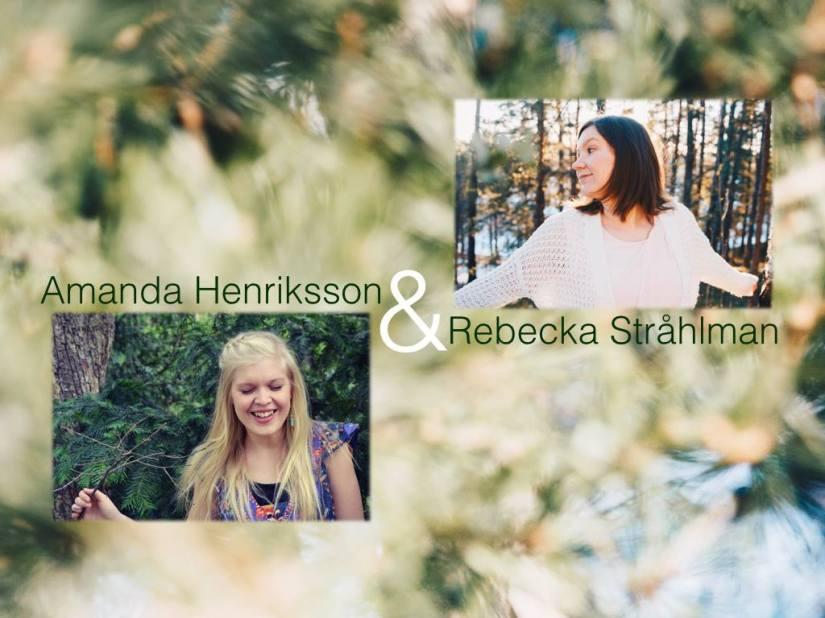 Konsert med Amanda och Rebecka